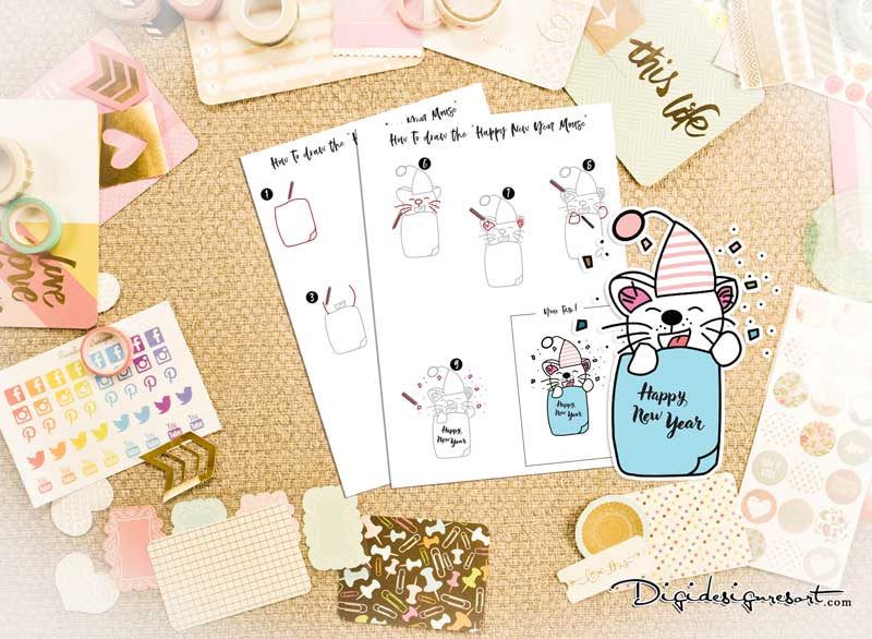 SKU_11010_How_to_draw_the_New_Years_Mouse_800_Prev1