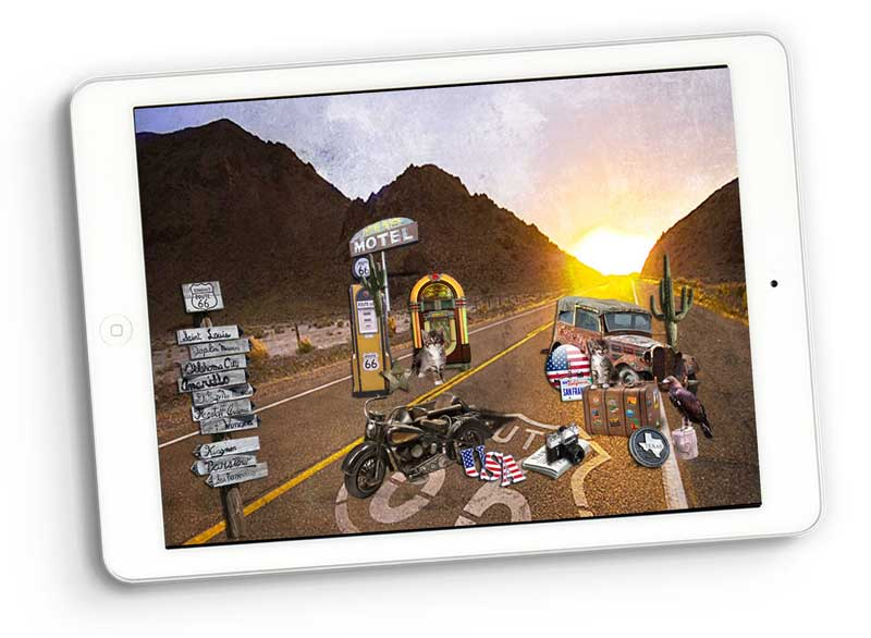 route road trips scrapbooking