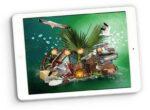 wild sea digital scrapbooking