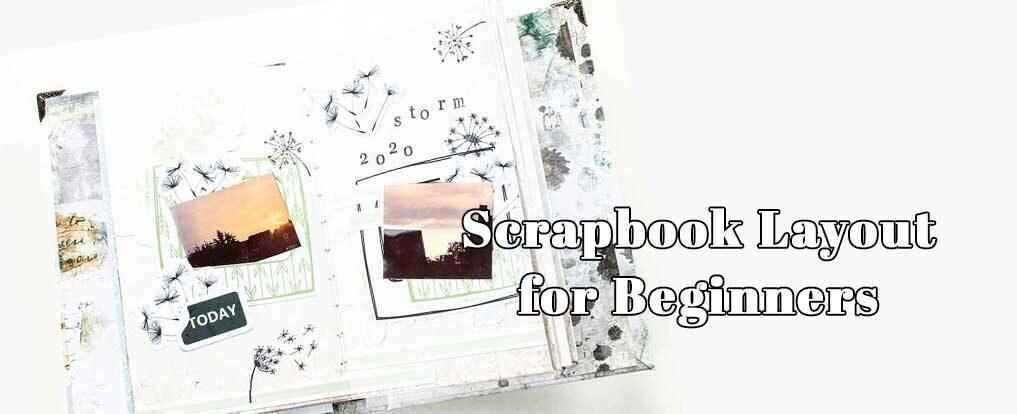 Scrapbook Layout Bundle for Beginners